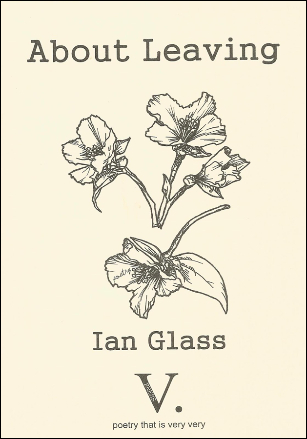 The jacket is creamy white with dark grey print and imagery. At the top the title in large lower case on one line extending to the full width of the page. Below this a large botanical drawing of a flower, and then a single floret with leaf. Below this the author's name centred, small lower case. At the bottom, centred, the large V plus dot which is the publisher's logo.