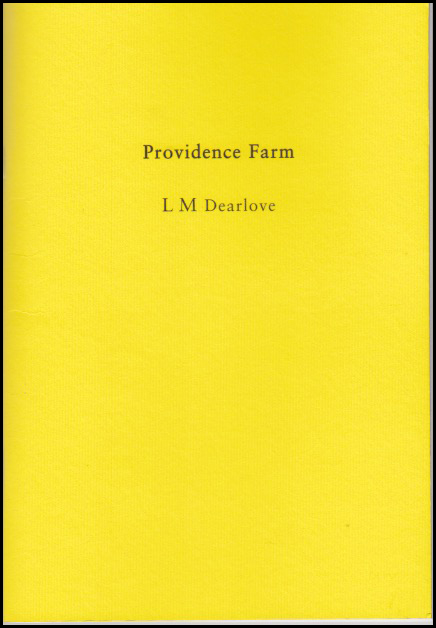 Plain A 5 cover with title and author name centred in small lower case. But the colour of the jacket is glitteringly yellow.